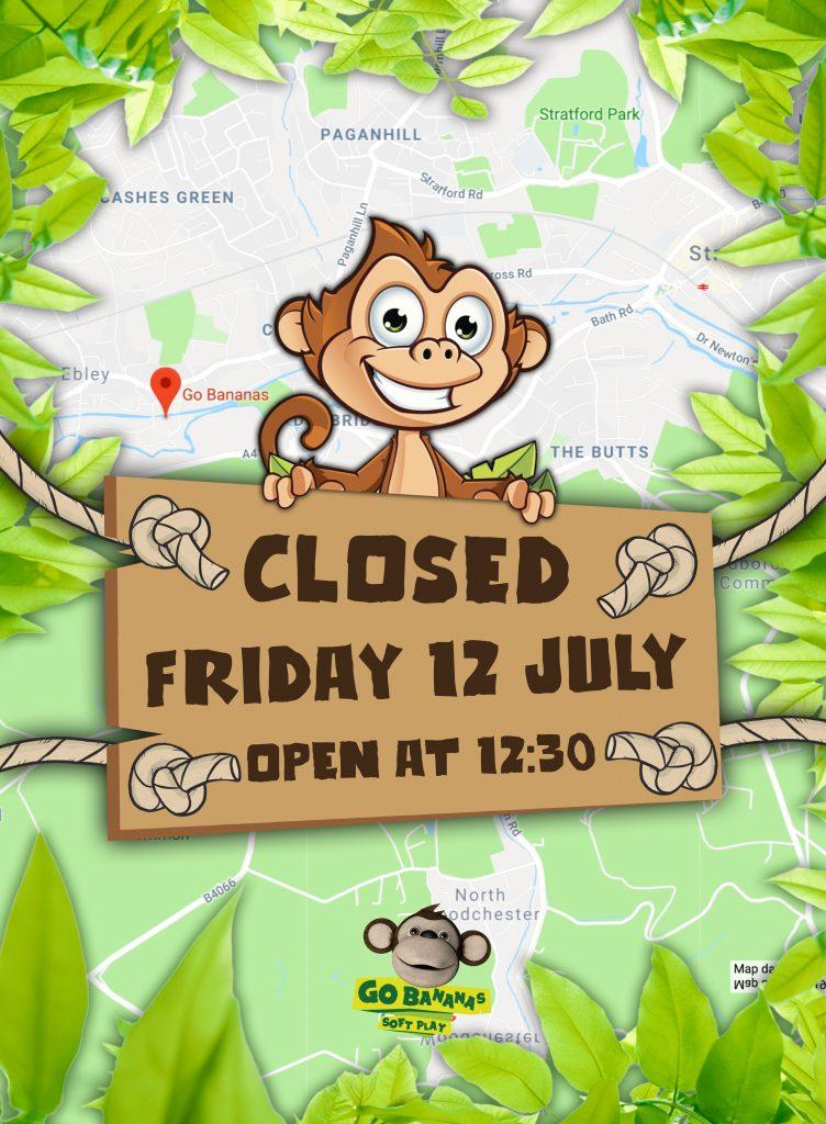 go b closed 12