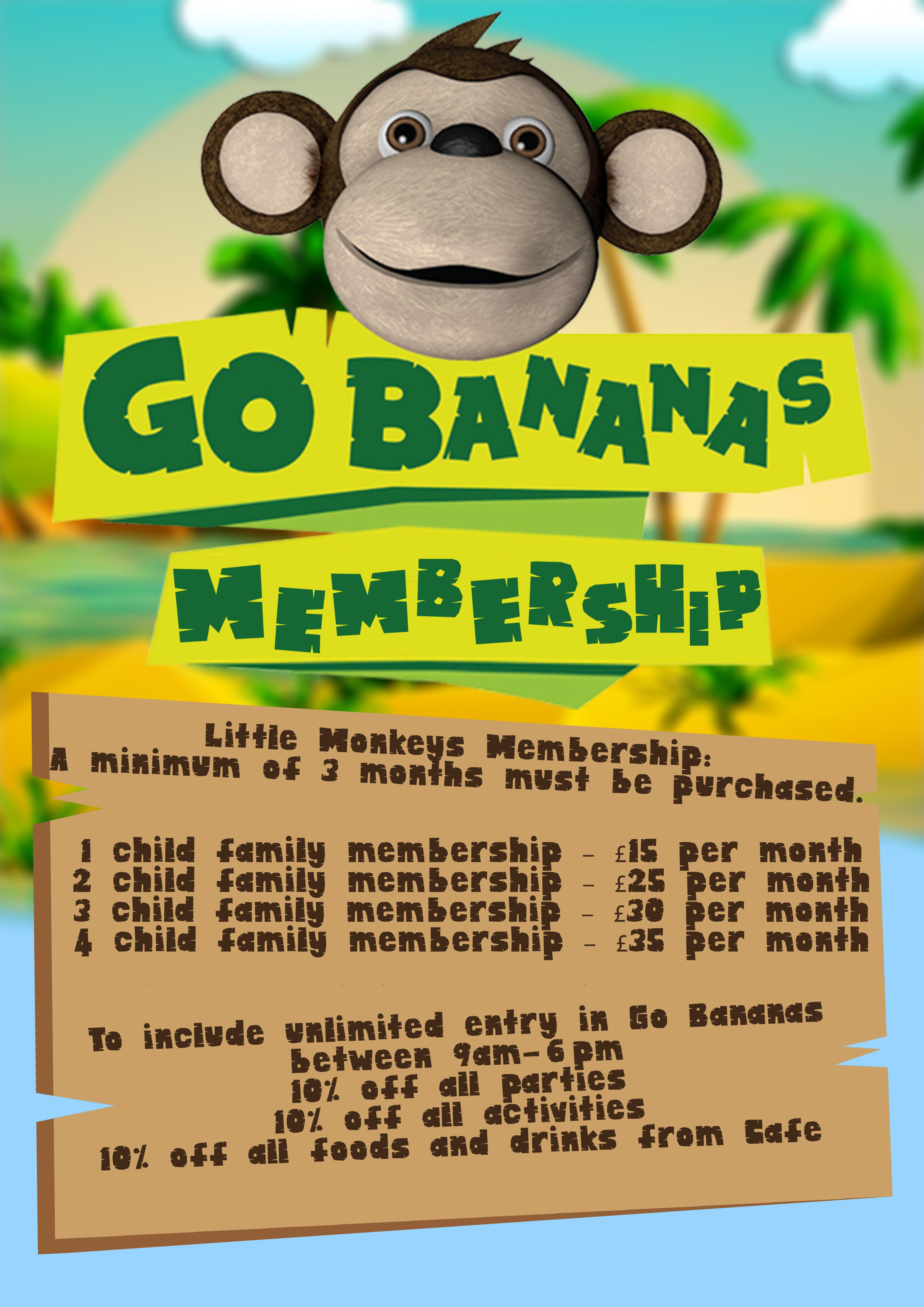 Go B Membership poster